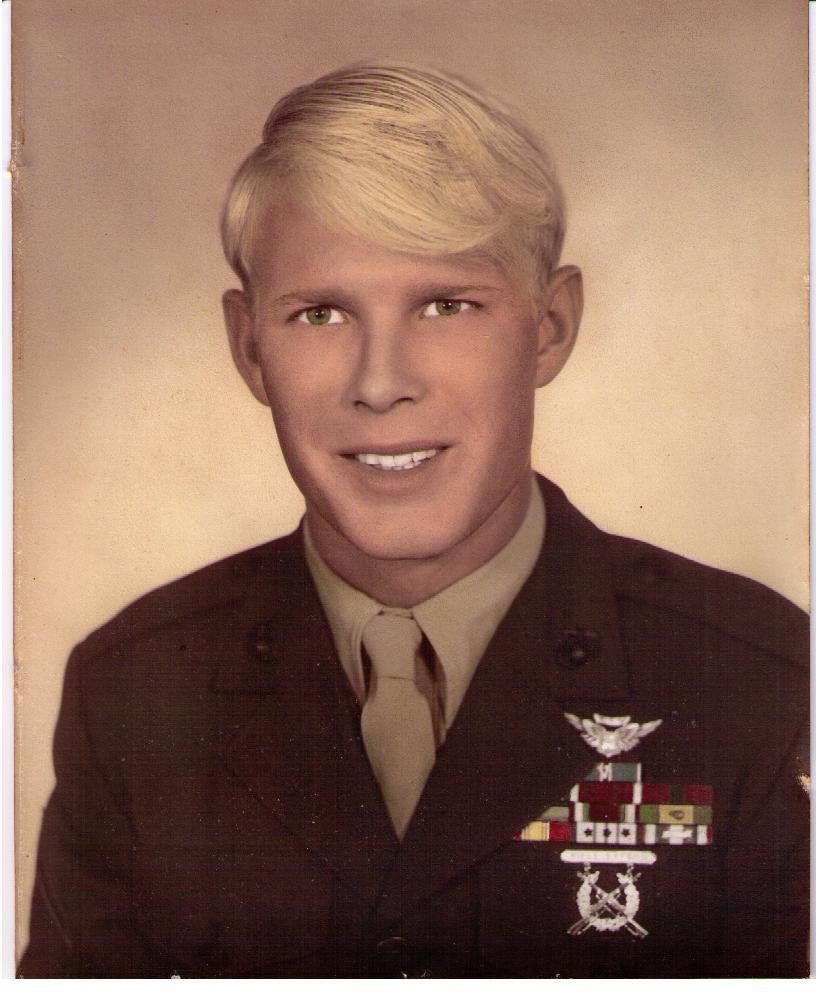 Mike in 1968 after return from a tour of Combat Duty in Vietnam